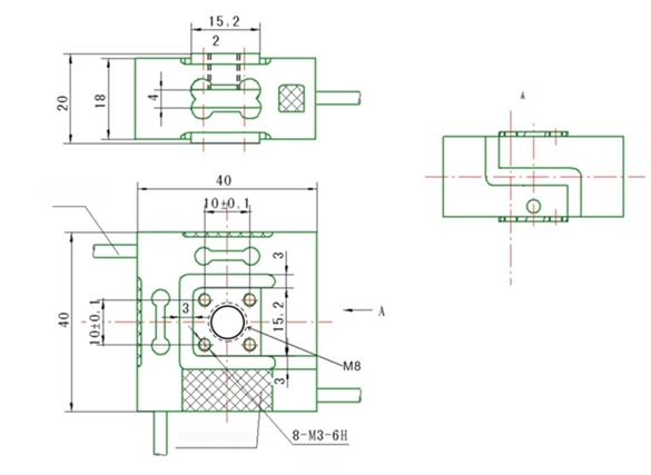 3 Axis Load Cell