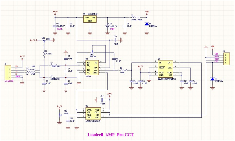 Load Cell Amplifier Circuit